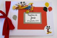 Livre d'or bébé Mickey