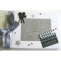 Livre d'or de mariage «Cinéma»