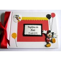 Livre d'or thème Mickey