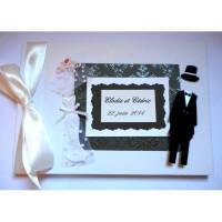 Livre d'or mariage «les mariés»