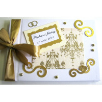 Livre d'or de mariage «Baroque»