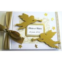 Livre d'or de mariage «anges»