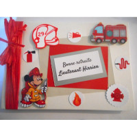 Livre d'or de retraite «Pompier»